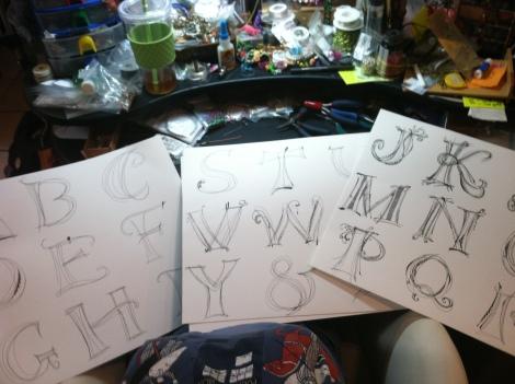 Pretty Monograms